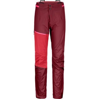 Ortovox Westalpen 3L Light Pants W dark blood