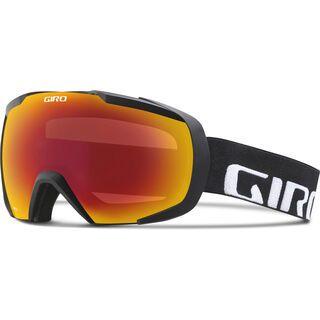 Giro Onset, black wordmark/Lens: amber scarlet - Skibrille