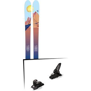 Set: Icelantic Oracle 88 2018 + Marker Griffon 13 ID black