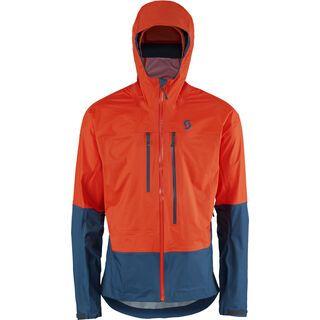 Scott Trail MTN DRYO 20 Jacket, tangerine orange/eclipse blue - Radjacke