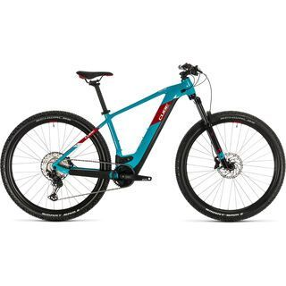 Cube Reaction Hybrid EXC 500 29 2020, petrol´n´red - E-Bike
