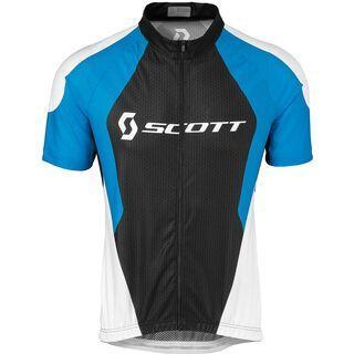 Scott Helium 30 s/sl Shirt, blue/black - Radtrikot
