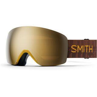 Smith Skyline - ChromaPop Sun Black Gold Mir amber textile