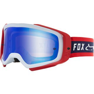 Fox Airspace Simp Goggle Spark Blue Mirror navy/red