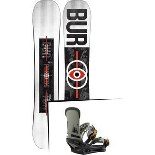 Set: Burton Process 2019 + Burton Malavita black/gray