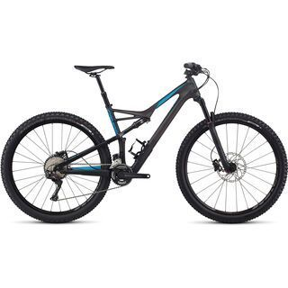 Specialized Camber FSR Comp Carbon 29 2x 2017, carbon/blue - Mountainbike