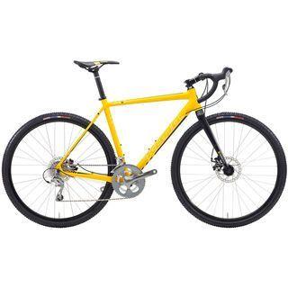 Kona Jake 2015, matt yellow/black - Crossrad