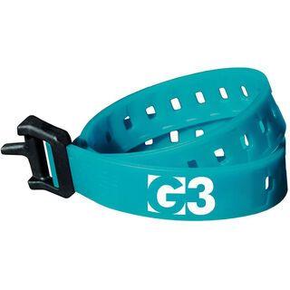 G3 Tension Strap - 50 cm, teal - Ski Clip