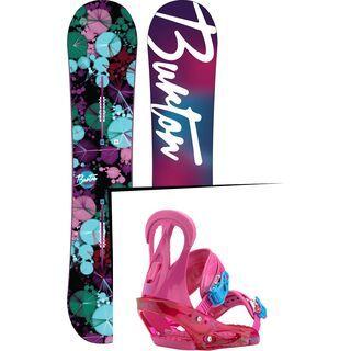 Set: Burton Genie 2016 + Burton Citizen 2017, so pink - Snowboardset