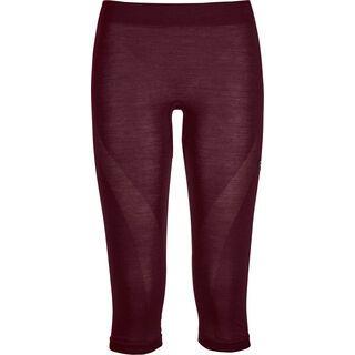 Ortovox 120 Merino Comp Light Short Pants W dark wine