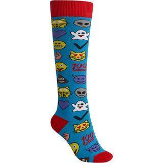 Burton Women's Party Sock, emoji - Socken