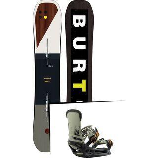 Set: Burton Custom Flying V 2019 +  Malavita EST (2218363S)