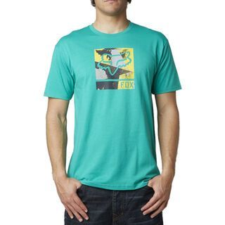 Fox Grisler SS Tee, emerald - T-Shirt