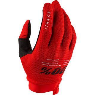 100% iTrack Glove, red - Fahrradhandschuhe