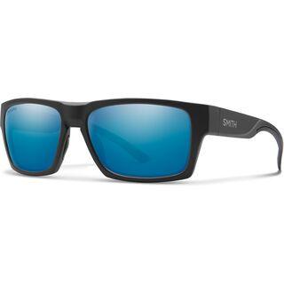 Smith Outlier 2 Chromapop Polarized Blue Mirror matte black