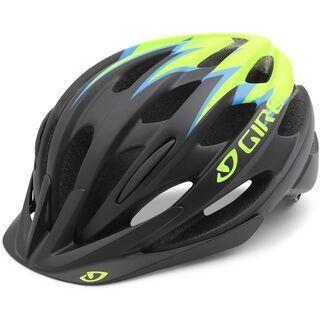 Giro Raze, matte black lime blue - Fahrradhelm