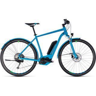 Cube Cross Hybrid Race Allroad 500 2018, blue´n´green - E-Bike
