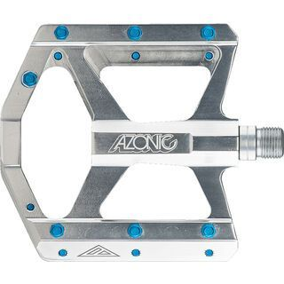 Azonic Wicked RL Pedal, silver