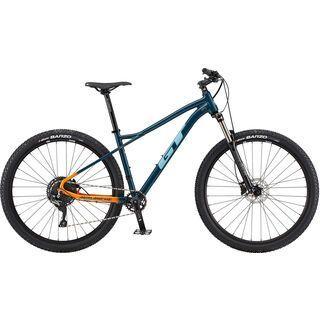 GT Avalanche Elite 27.5 2020, slate blue/orange fade - Mountainbike