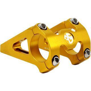 NC-17 Direct Mount Vorbau für Boxxer & Fox40, gold