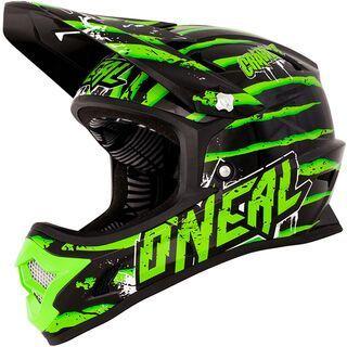 ONeal Fury Fidlock DH Helmet Evo Crawler, black/green - Fahrradhelm