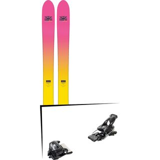 Set: DPS Skis Yvette 112 RP2 Foundation 2018 + Tyrolia Attack² 16 GW solid black
