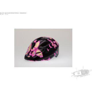Bell Dart, black/pink butterflies - Fahrradhelm