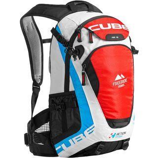 Cube Rucksack FRS 18 Action Team weiß/schwarz/rot/blau