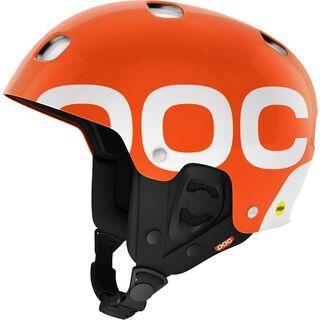 POC Receptor Backcountry MIPS, iron orange - Skihelm