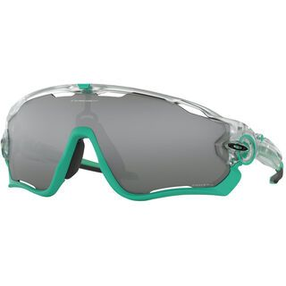 Oakley Jawbreaker Prizm Crystal Pop Collection, matte clear/Lens: prizm black - Sportbrille