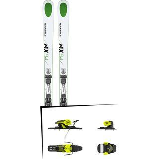 Set: Kästle MX84 2019 + Salomon Warden 11 yellow/black