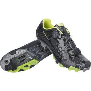 Scott MTB Team Boa, black gloss/lime green - Radschuhe