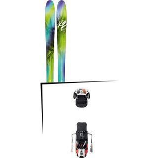 Set: K2 SKI FulLUVit 95Ti 2018 + Atomic Warden MNC 13 white/black/orange