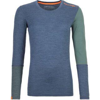 Ortovox 185 Merino Rock'n'Wool Long Sleeve W, night blue blend - Unterhemd