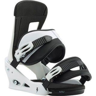 Burton Freestyle 2018, white/black - Snowboardbindung