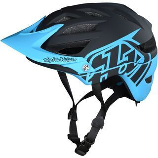 TroyLee Designs A1 Classic Youth Helmet MIPS, black/ocean - Fahrradhelm
