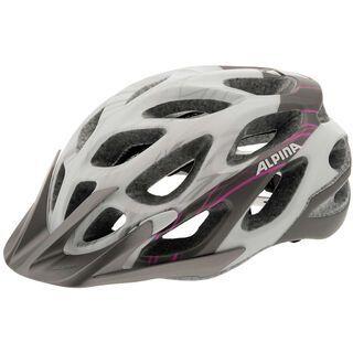 Alpina Mythos 2.0 L.E., white-darksilver-pink - Fahrradhelm