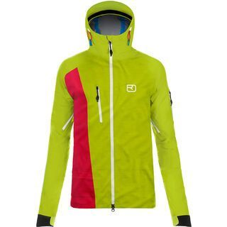Ortovox 3L Merino Jacket Alagna, happy green - Skijacke
