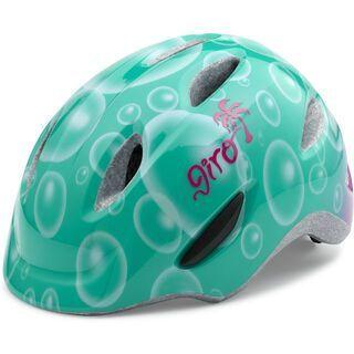 Giro Scamp, turqoise/magenta bubbles - Fahrradhelm