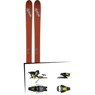 DPS Skis Set: Wailer 105 Pure3 2016 + Salomon STH2 WTR 13