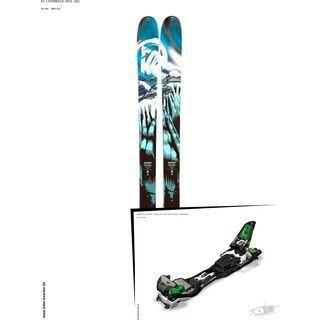 K2 SKI Set: CoomBack 2014 + Marker F12 Tour EPF