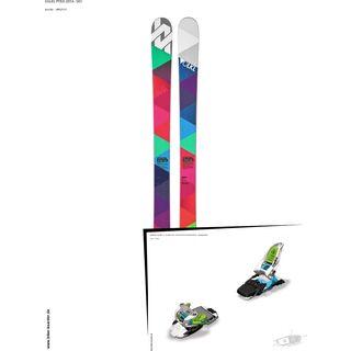 Völkl Set: Pyra 2014 + Marker Squire 11