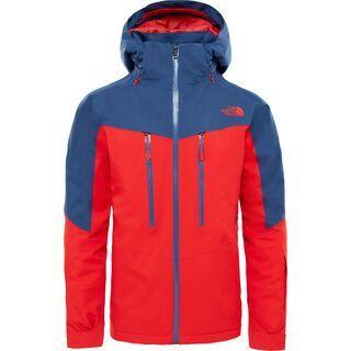 The North Face Mens Chakal Jacket, centennial red/shady blue - Skijacke