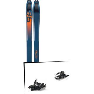 Set: Dynafit Tour 96 2018 + Marker Alpinist 9 Long Travel black/titanium