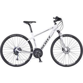 Scott Sub Cross 30 Solution 2016, white/black - Fitnessbike
