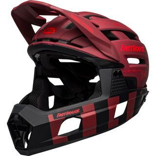 Bell Super Air R Spherical MIPS, matte red/black fasthouse - Fahrradhelm