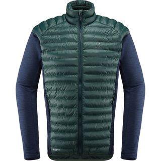 Haglöfs Mimic Hybrid Jacket Men, mineral/tarn blue - Thermojacke