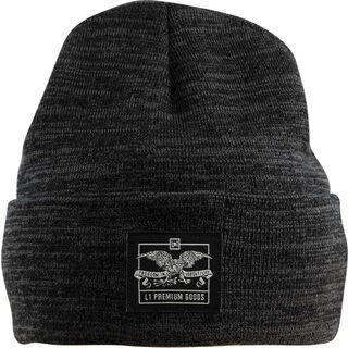 Nitro L1 Dickson Beanie, black heather - Mütze