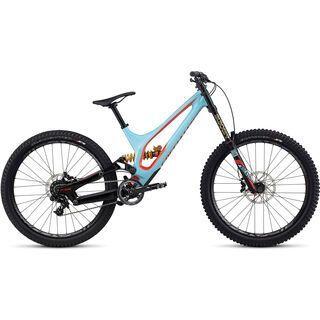 Specialized Demo 8 FSR I Carbon 650B 2017, blue/red - Mountainbike