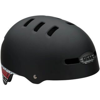 Bell Faction, mat black paul frank stripes - Fahrradhelm